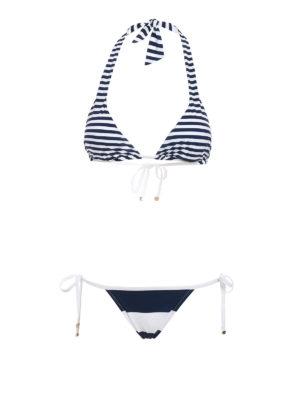 Dolce & Gabbana: bikinis - Striped bikini