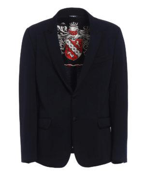 Dolce & Gabbana: blazers - Jersey formal blazer