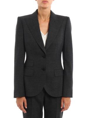 Dolce & Gabbana: blazers online - Wool blend single-breasted blazer