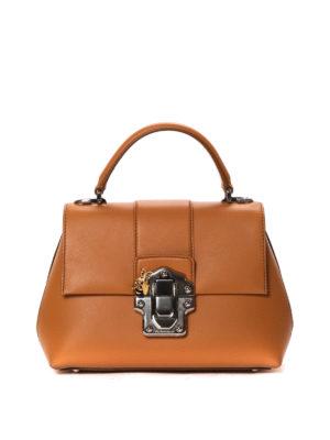 Dolce & Gabbana: bowling bags - Lucia leather handbag