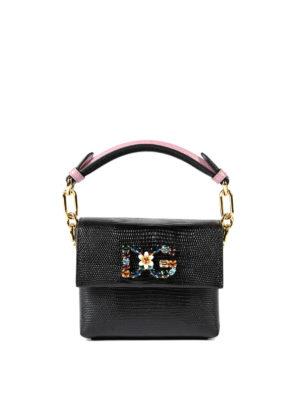 Dolce & Gabbana: bowling bags - Millennials small handbag
