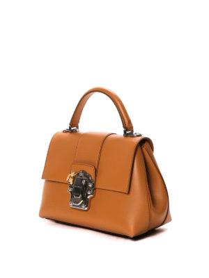Dolce & Gabbana: bowling bags online - Lucia leather handbag