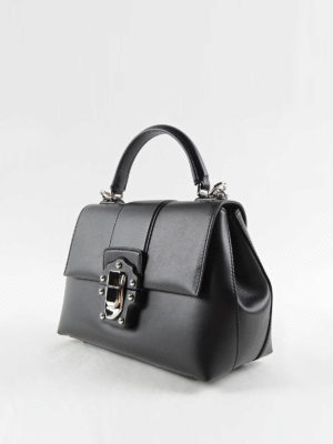 Dolce & Gabbana: bowling bags online - Lucia smooth leather handbag