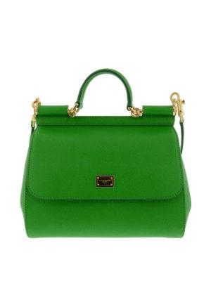 Dolce & Gabbana: bowling bags - Sicily medium bag
