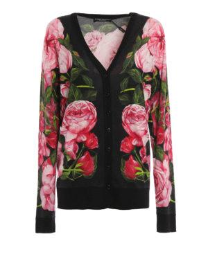 Dolce & Gabbana: cardigans - Cashmere blend cardigan