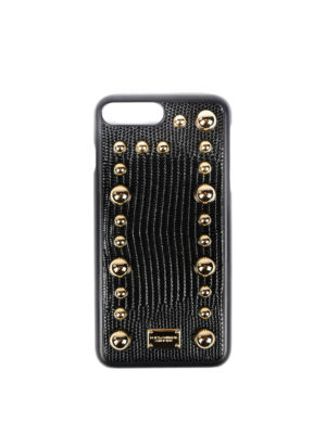 Dolce & Gabbana: Cases & Covers - 7 Plus leather phone case