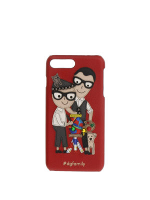 Dolce & Gabbana: Cases & Covers - DG Family Iphone 7+ cover