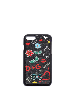 Dolce & Gabbana: Cases & Covers - Graffiti print iPhone 7 cover