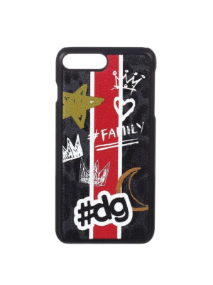 Dolce & Gabbana: Cases & Covers - Graffiti print iPhone 7 plus cover