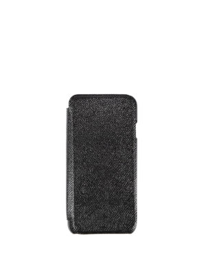Dolce & Gabbana: Cases & Covers - Iphone 7 leather bifold case