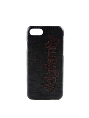 Dolce & Gabbana: Cases & Covers - Leather iPhone 7 case