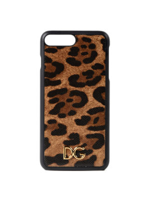 Dolce & Gabbana: Cases & Covers - Leo print iPhone 7 plus cover