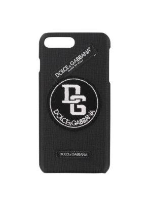 DOLCE & GABBANA: custodie e cover - Cover etichetta per Iphone 7 plus