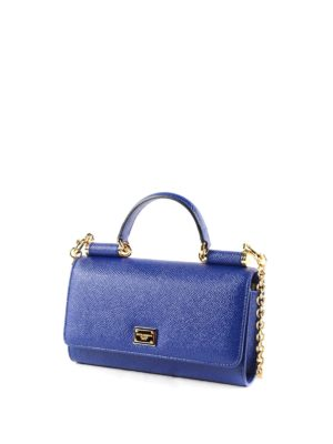 Dolce & Gabbana: Cases & Covers online - Dauphine leather phone bag
