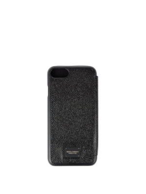 Dolce & Gabbana: Cases & Covers online - Iphone 7 leather bifold case