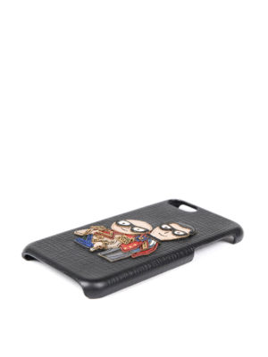 Dolce & Gabbana: Cases & Covers online - iPhone 7 leather case