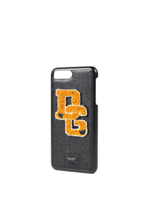 Dolce & Gabbana: Cases & Covers online - iPhone 7 Plus leather case