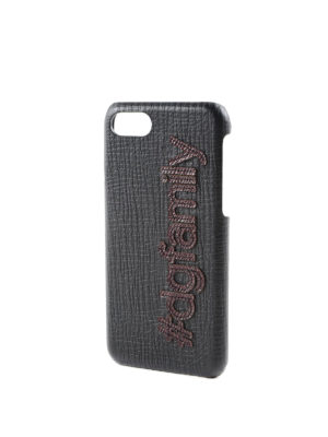 Dolce & Gabbana: Cases & Covers online - Leather iPhone 7 case