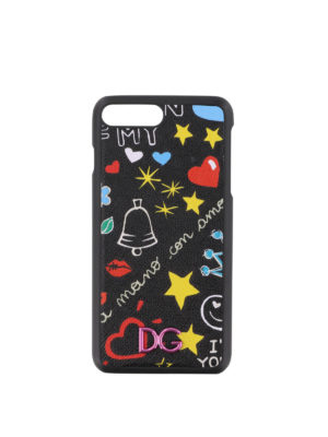 DOLCE & GABBANA: custodie e cover - Cover fantasia per iPhone 7 plus