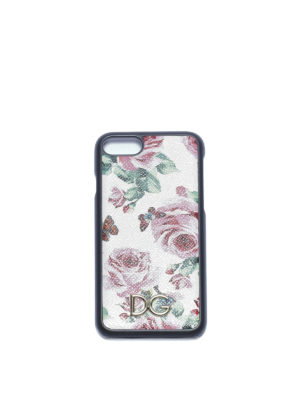 Dolce & Gabbana: Cases & Covers - Rose print iPhone 7 cover