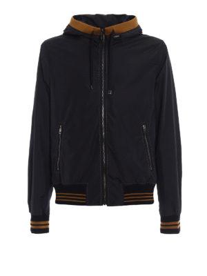 Dolce & Gabbana: casual jackets - Exposed stitchings nylon jacket