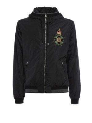 Dolce & Gabbana: casual jackets - Heraldic Sicilia nylon jacket