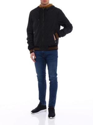 Dolce & Gabbana: casual jackets online - Exposed stitchings nylon jacket