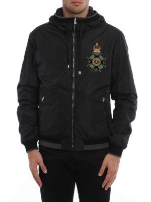 Dolce & Gabbana: casual jackets online - Heraldic Sicilia nylon jacket