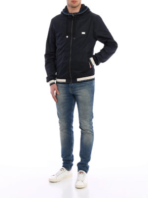 Dolce & Gabbana: casual jackets online - Opaque technical fabric jacket