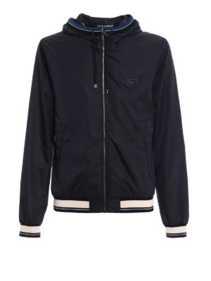 Dolce & Gabbana: casual jackets - Opaque technical fabric jacket