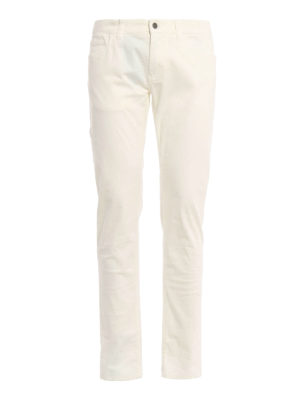 Dolce & Gabbana: casual trousers - Five pocket cotton trousers