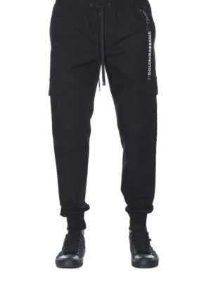 Dolce & Gabbana: casual trousers online - Charm detailed cotton trousers