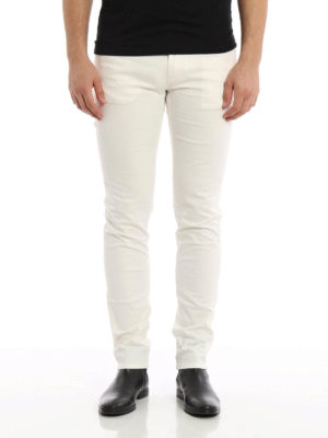 Dolce & Gabbana: casual trousers online - Five pocket cotton trousers