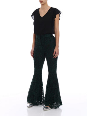 Dolce & Gabbana: casual trousers online - Lace trousers