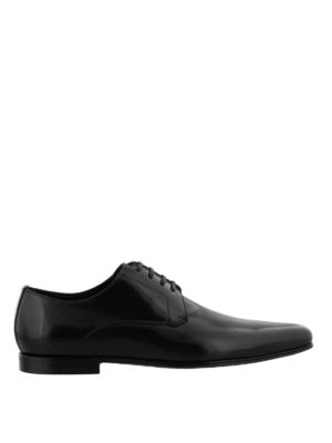 Dolce & Gabbana: classic shoes - James Bond Derby leather shoes