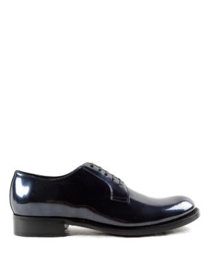 Dolce & Gabbana: classic shoes - Metallic leather Derby