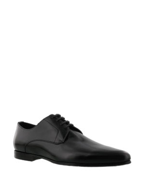 Dolce & Gabbana: classic shoes online - James Bond Derby leather shoes
