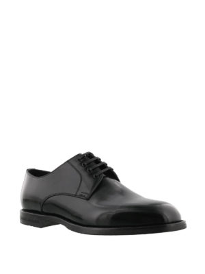 Dolce & Gabbana: classic shoes online - Marsala Derby leather shoes