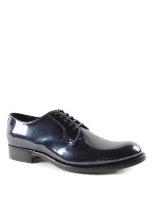 Dolce & Gabbana: classic shoes online - Metallic leather Derby