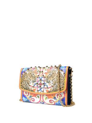 Dolce & Gabbana: clutches online - Maiolica print Dauphine wallet bag