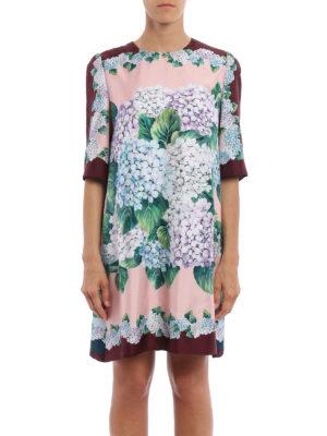 Dolce & Gabbana: cocktail dresses online - Ortensia print silk dress