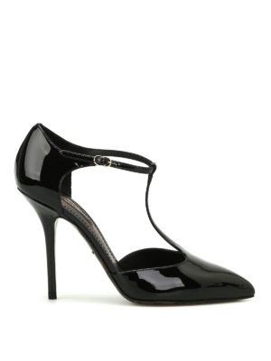 Dolce & Gabbana: court shoes - Bellucci black patent pumps