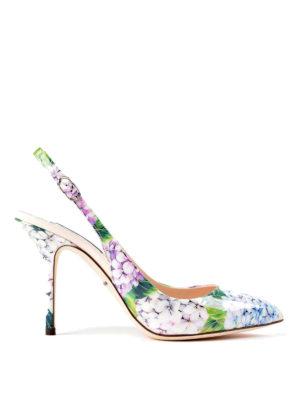 Dolce & Gabbana: court shoes - Bellucci hydrangea patent pumps