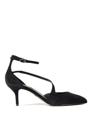 Dolce & Gabbana: court shoes - Bellucci suede pumps