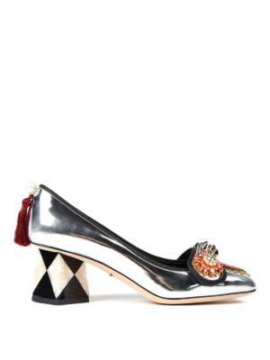 Dolce & Gabbana: court shoes - Jackie embellished pumps