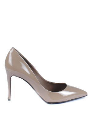 Dolce & Gabbana: court shoes - Kate patent leather pumps