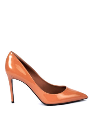 Dolce & Gabbana: court shoes - Kate patent pumps with Leo sole