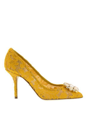 Dolce & Gabbana: court shoes - Lace court shoes