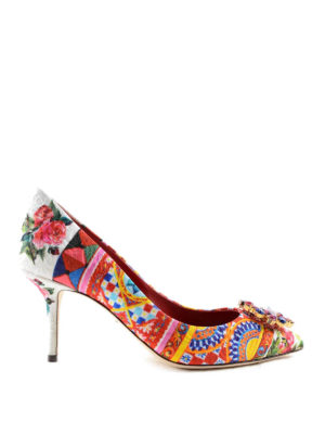 Dolce & Gabbana: court shoes - Mambo print brocade pumps