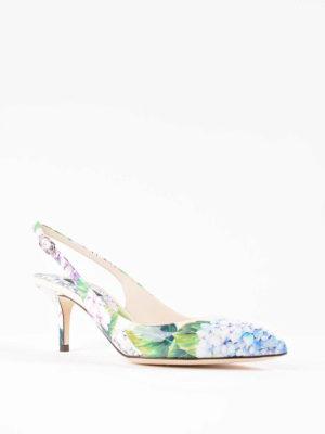 Dolce & Gabbana: court shoes online - Bellucci hydrangea patent pumps
